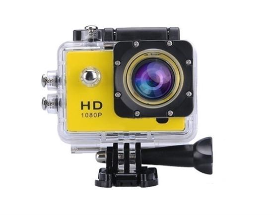 სპორტული კამერა Action Camera Yellow