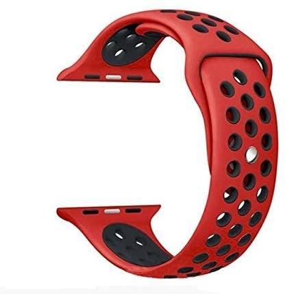 Apple Watch სამაჯური – 42/44 mm (Red/Black)